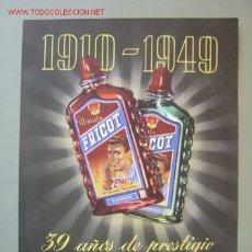 Coleccionismo de carteles: FRICOT MASAJE - FRANCISCO BETRIAN - BARCELONA. Lote 98210656