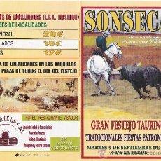 Collezionismo di affissi: CARTEL DE MANO CORRIDA DE TOROS 2008. Lote 10333085