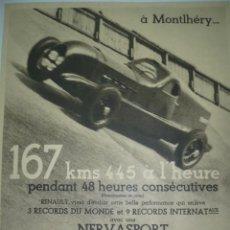 Coleccionismo de carteles: CARTEL DE PUBLICIDAD DE REVISTAS AÑOS 30. Lote 10865965