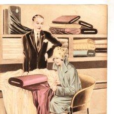 Colecionismo de cartazes: CARTEL PEQUEÑO FORMATO 25X18 ESCOGIENDO LA TELA. Lote 12818652
