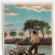 Coleccionismo de carteles: LAMINA PUBLICITARIA FARMACIA. MEDICINA AÑOS 50. CONTIENE FOTOGRAFIA DEL REVERSO . Lote 13624501