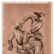 Coleccionismo de carteles: LAMINA PUBLICITARIA FARMACIA. MEDICINA AÑOS 50. CONTIENE FOTOGRAFIA DEL REVERSO . Lote 13624675