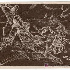 Coleccionismo de carteles: LAMINA PUBLICITARIA FARMACIA. MEDICINA AÑOS 50. CONTIENE FOTOGRAFIA DEL REVERSO . Lote 13624706