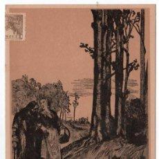 Coleccionismo de carteles: LAMINA PUBLICITARIA FARMACIA. MEDICINA AÑOS 50. CONTIENE FOTOGRAFIA DEL REVERSO . Lote 13624784