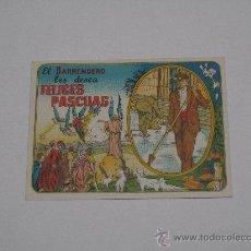 Coleccionismo de carteles: EL BARRENDERO LES DESEA FELICES PASCUAS . CON TEXTO EN CASTELLANO . 7,5 X 10 CMS . Lote 16042137
