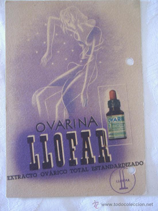propaganda farmaceutica ovarina llofar comprar carteles antiguos