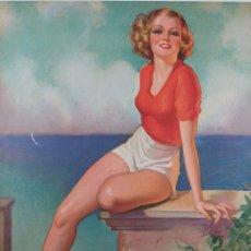 Coleccionismo de carteles: BONITO PIN UP ART DECO POR B. CRANDELL. Lote 27362230