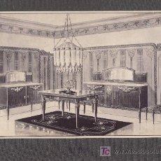 Coleccionismo de carteles: CARTEL MUESTRA- PUBLICITARIA MUEBLES.MAS COLECCIONISMO EN RASTRILLOPORTOBELLO. Lote 24474693