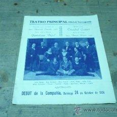 Coleccionismo de carteles: TARRAGONA-TEATRO PRINCIPAL(ORFEÓ TARRAGONÍ). Lote 22509940