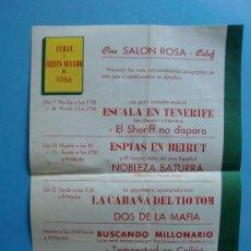 Coleccionismo de carteles: FERIA Y FIESTA MAYOR DE CALAF 1966 PATROCINA CERVEZA SAN MIGUEL. Lote 27027017