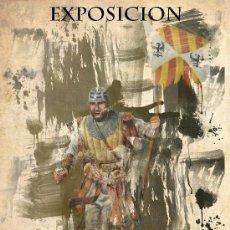 Coleccionismo de carteles: CARTEL DE LA EXPOSICIÓN DE PINTURA HISTORICA DIEZ CUADROS PARA LA HISTORIA. POSEE SELLO EN SECO. Lote 27574013