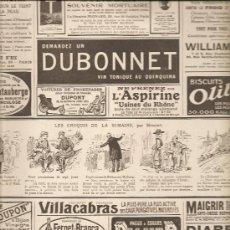Coleccionismo de carteles: 83. ANUNCIOS DE PEQUEÑO FORMATO Y COMIC SOBRE LA GUERRA (14-10-1916). Lote 25181639