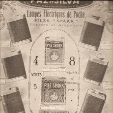 Coleccionismo de carteles: 82. LINTERNAS: PAZ Y SILVA (PRIMERA GUERRA MUNDIAL). Lote 25181821
