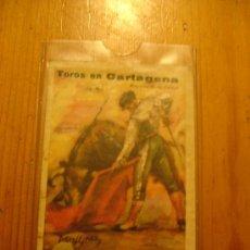 Coleccionismo de carteles: PLAZA DE TOROS DE CARTAGENA. Lote 27342879