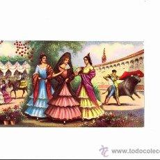 Coleccionismo de carteles: ESTAMPA COSTUMBRISTA SEVILLANA.. Lote 27500198