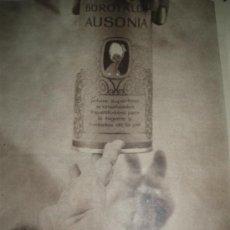 Coleccionismo de carteles: PUBLICIDAD DE TALCO AUSONIA.. Lote 28254416