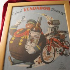 Coleccionismo de carteles: CARTEL- FUNDADOR SERIE SORPRESA 55 X 40-AÑOS 60-PUBLICIDAD-POSTER-COMERCIAL. Lote 28665726