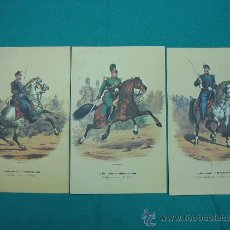 Coleccionismo de carteles: LAMINAS MILITARES. Lote 29290020