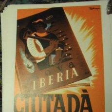 Coleccionismo de carteles: NOVA IBERIA – CIUTADA - CARTEL GUERRA CIVIL. Lote 29492351