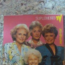 Coleccionismo de carteles: MINI-POSTER SERIES DE TELEVISION.AÑOS 80--(LAS CHICAS DE ORO). Lote 29588040