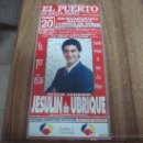 Coleccionismo de carteles: CARTEL TAURINO.-EN EL PUERTO DE SANTA MARIA.-CORRIDA DE TOROS EXCLUSIVAMENTE PARA MUJERES.-1995.-. Lote 30078855
