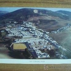 Coleccionismo de carteles: LAMINA DE VISTA AEREA DE SAN JOSE DEL VALLE.. Lote 30354355