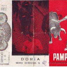 Coleccionismo de carteles: PAMPLONA FIESTA SAN FERMÍN 1960. Lote 30790126