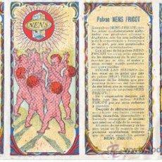 Coleccionismo de carteles: CARTEL DE PUBLICIDAD POLVOS NENS FRICOT - DE FRANCISCO BETRIAN DE BARCELONA -LABORATOROP DR.SASTRE. Lote 31517536