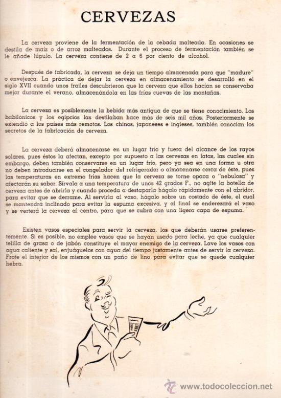 Coleccionismo de carteles: CARTEL PUBLICITARIO GINEBRA AROMÁTICA FOCKINK, CERVEZAS, 24X32CM - Foto 2 - 31571262