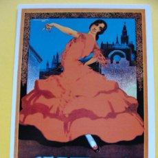 Coleccionismo de carteles: FOTO POSTAL. CARTEL DE LAS FIESTAS DE PRIMAVERA DE SEVILLA 1924 SEMANA SANTA Y FERIA. 966. . Lote 44929272