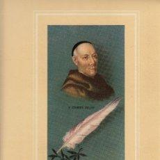 Coleccionismo de carteles: CARTEL DE ORENSE EN HOMENAJE AL P. JERONIMO FEIJOO. Lote 31898643
