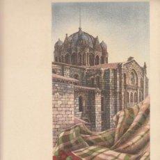 Coleccionismo de carteles: PRECIOSO CARTEL LITOGRAFICO DE ZAMORA. Lote 31934256