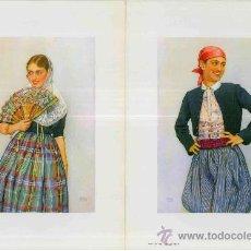 Coleccionismo de carteles: DOS JOVENES MALLORQUINES DE EDWIN HUBERT. Lote 34297230