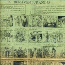 Coleccionismo de carteles: AUCA ALELUYA LES BENAVENTURANCES. Lote 34370914