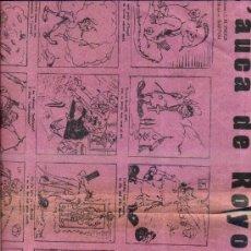 Coleccionismo de carteles: AUCA ALELUYA DE ROYO VILLANOVA. Lote 34371169