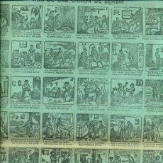 Coleccionismo de carteles: AUCA ALELUYA VIDA DE UNA CRIADA DE SERVIR. Lote 34372295
