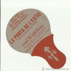 Coleccionismo de carteles: PAI PAI CENTRE DE LECTURA REUS EXPOSICIÓ LA PORTA DE L'ESTIU SANT JOAN. Lote 34635053