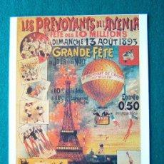 Coleccionismo de carteles: LES PREVOYANTS DE L'AVENIR - 32X24 CM - CARTULINA -EDITIONS ARTERTRE -PARIS - AÑOS 1980 ?. Lote 35813499