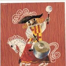 Coleccionismo de carteles: FIESTAS DE LA MERCED BARCELONA 1960. Lote 37196674
