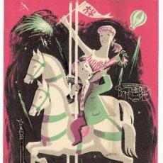 Coleccionismo de carteles: FIESTAS DE LA MERCED 1952. Lote 37212368