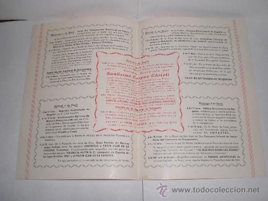 Coleccionismo de carteles: Corpus Christi, Cadiz - 1953 (Tradicionales Fiestas) - Foto 2 - 38348894