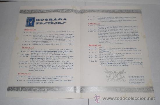 Coleccionismo de carteles: Corpus Christi, Cadiz - 1954 - Foto 3 - 38349005