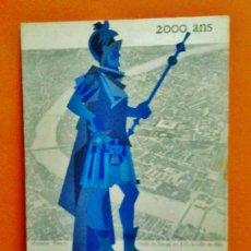 Coleccionismo de carteles: ANTIGUO CARTEL - BALE SUR LE RHIN / SUIZA - 2000 ANS - CARTON RIGIDO - 20'5 X 33 - RD11. Lote 38838258