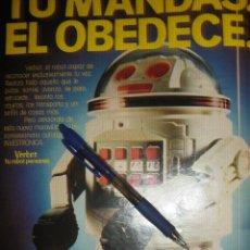 Coleccionismo de carteles: VERBOT, TU ROBOT PERSONAL. INVESTRONICA.. Lote 39411022