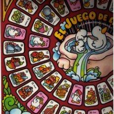 Colecionismo de cartazes: JUEGO DE LA OCA. PROMOCIÓN DE GALLINA BLANCA (DEMER) DE LA BUENA COCINA ESPAÑOLA. AÑOS 50/70. NUEVO.. Lote 222292232