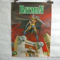 Coleccionismo de carteles: BATMAN-CARTEL 50 ANIVERSARIO. Lote 41317226