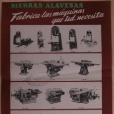 Coleccionismo de carteles: SIERRAS ALAVESAS DISTINTOS MODELOS VITORIA (ESPAÑA). Lote 41322667
