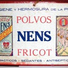 Coleccionismo de carteles: CARTEL , CARTON DURO, 22,5 X 17, POLVOS NENS FRICOT. Lote 41602933