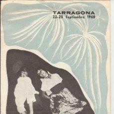 Coleccionismo de carteles: TARRAGONA 22-25 SEPTIEMBRE 1960 - FIESTAS DE SANTA TECLA. Lote 41605640