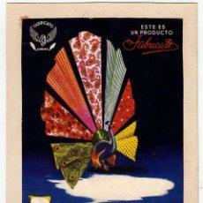 Coleccionismo de carteles: FABRICATO INDUSTRIA COLOMBIANA 1949 LIT. J.L.ARANGO. Lote 42659931